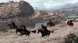 Red Dead Redemption, horses
